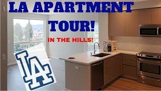 Los Angeles Apartment Tour | Empty Apartment Tour | Luxury LA Apartment in the Hills