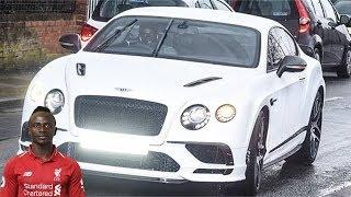 Sadio Mane's Luxury Car Collection.