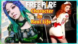 Free Fire Character In Real Life ( 2018 ) - all Characters ????????????