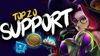 Top 20 SUPPORT Plays #16 | League of Legends