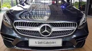 2018 Mercedes-Benz S560 Cabriolet Walkaround Review