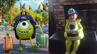 Monsters University Characters in Real Life 2018
