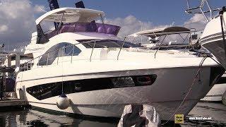 2019 Schaefer 560 Luxury Yacht - Deck and Interior Walkaround - 2018 Fort Lauderdale Boat Show