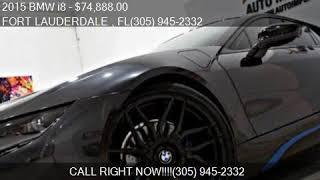 2015 BMW i8 Base AWD 2dr Coupe for sale in FORT LAUDERDALE ,