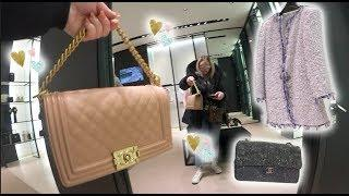 Mini Luxury Chanel Shopping Vlog! 18S Boy Bags, Pastel Ready To Wear & Shoes!