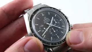 Omega Speedmaster Moonwatch (Sapphire Sandwich) 311.30.42.30.01.006 Luxury Watch Review