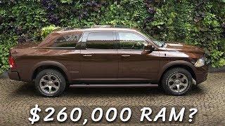 $260,000 Ram 1500 Luxury Sedan - The Maybach of Pickup Trucks?