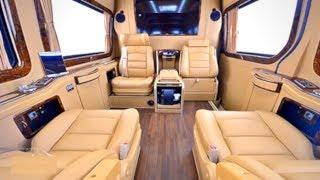 Mercedes Benz Sprinter Modified Into Ultra Luxury Van ????