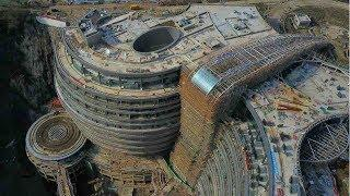 China does not stop shocking! A luxury Underground hotel that is 17 storeys underground