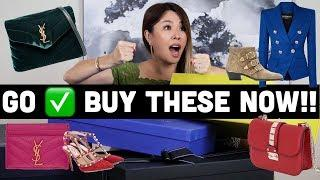 DESIGNER UNBOXING TIME! WATCH FOR THE BEST LUXURY SALE PICKS! | YSL, Valentino, Givenchy, Balmain