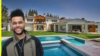 The Weeknd House Tour $20000000 Hidden Hills Mansion Luxury Lifestyle