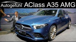 New entry-level AMG! Mercedes-AMG A35 REVIEW 2019 AClass AMG - Autogefühl