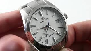 "Grand Seiko Spring Drive ""Snowflake"" SBGA211 Luxury Watch Review"