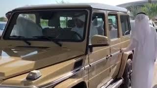 Sheikh Saeed Al Nahyans G63 AMG|GOLD COLOUR|Luxury Cars|G-Wagen