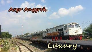 SPESIAL!!! Argo Anggrek Bawa Kereta Luxury
