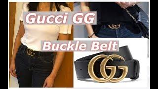 #gucci#ggbelt#leather#luxury#lifestyle Gucci Leather belt with Double G buckle Review & Styling