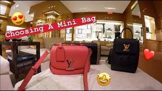 Luxury Shopping Vlog Trying On Louis Vuitton's Most Wanted Bags! Capucines BB⭐️Twist MM⭐️Mini Lockme