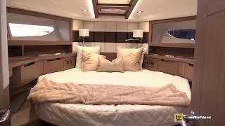 2019 Galeon 430 HTC Luxury Yacht - Deck Interior Walkaround - 2018 Fort Lauderdale Boat Show