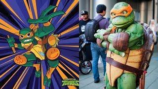 Rise of the Teenage Mutant Ninja Turtles in Real Life 2018