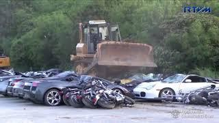 Philippines Crushes Nearly $6 Million Worth Of Luxury Cars