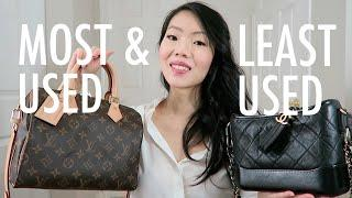 MOST & LEAST USED (+SOLD) LUXURY ITEMS | FashionablyAMY