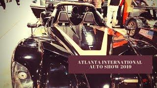 ATLANTA INTERNATIONAL AUTO SHOW 2019 (LUXURY CARS) - #carshow #autoshow #amazingcars #racing
