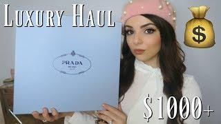 $1000+ LUXURY HAUL - Tiffany & Co, Prada, Dior, and More
