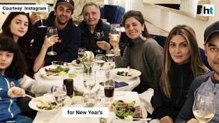 Alia Bhatt, Ranbir Kapoor celebrate New Year's with the Kapoor khandaan in New York
