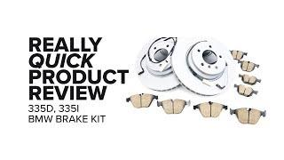 BMW E90, E92, and E93 Front and Rear Brake Kit - Specs, Benefits, and Product Review