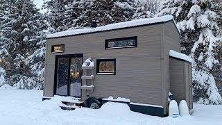 Stunning Gorgeous The Luxury Tiny House on Wheels For Sale | Lovely Tiny House