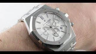 Audemars Piguet Royal Oak Chronograph 26320ST.OO.1220ST.02 Luxury Watch Review