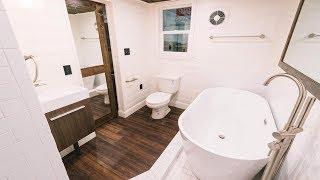 Awesome Bathroom and Inexpensive in Absolutely Luxury Tiny House by California Tiny House