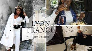 LYON FRANCE -Traveling Solo, Buying Luxury Items & Meeting New People