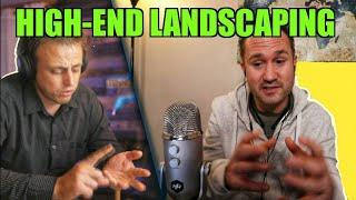 He Does Luxury Landscaping Construction of Koi Fish Ponds & Water Features   Untrapped Podcast