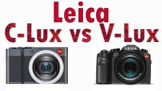 Leica C-Lux vs Leica V-Lux (Typ 114)