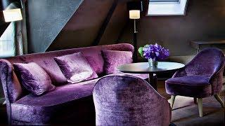 Velvet interior today: vintage luxury | Fashionable accents
