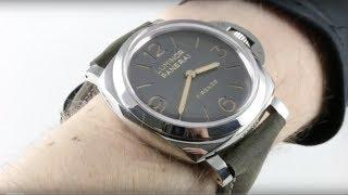 Panerai Luminor 1950 3-Days PAM 605 Luxury Watch Review