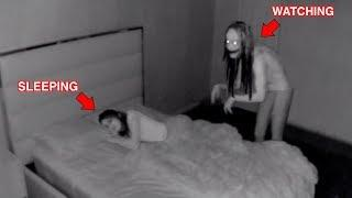 He Has Been Watching Her at Night..