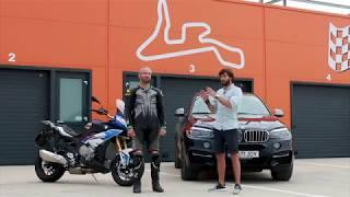 BMW S 1000 XR vs BMW X6 M50d || MotorVlogTV