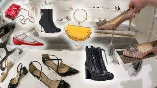 PRE FALL COLLECTION LUXURY SHOPPING VLOG SHOES VALENTINO PRADA MIU MIU MANOLO BLAHNIK & MORE