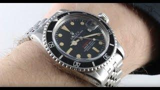 "Rolex Submariner ""Red Submariner"" 1680 Luxury Watch Review"