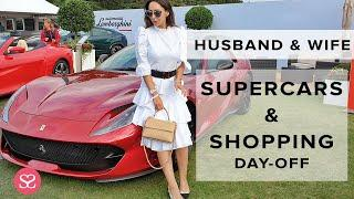 WHAT WE DID ON OUR DAY OFF (SHOPPING, LUXURY CARS & HAUL)
