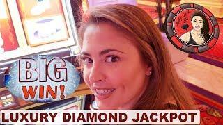 LUXURY DIAMOND JACKPOT on NEW MONOPOLY GAME at ENCORE LAS VEGAS