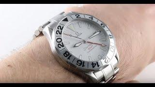 Omega Seamaster GMT 300M Professional 2538.20.00 Luxury Watch Review