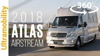 (360 video) 2018 Airstream Atlas Review | Luxury Class B+ with Murphy Suite