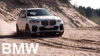 The all-new BMW X5 (G05, 2018). Driving dynamics.