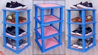 Shoes Stand !! Best Out Of Waste Organization Idea 2019 | DIY Shoes Rack | How to Make Shoes Rack