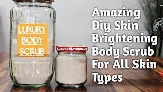 Pamper Yourself With A Luxury Bath | DIY Luxury Body Scrub For Everyday Bath