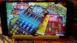 BIG £50.00 Scratchcard Game....includes BIG DADDY £10.oo..5xCASH..LUXURY LINES..and more