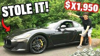 How Much Was My Maserati?? You Won't Believe It!